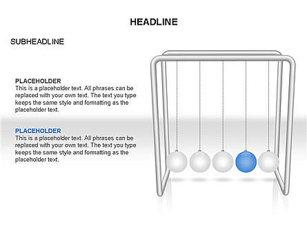 Newtons Cradle Toolbox, Slide 4, 03391, Business Models — PoweredTemplate.com