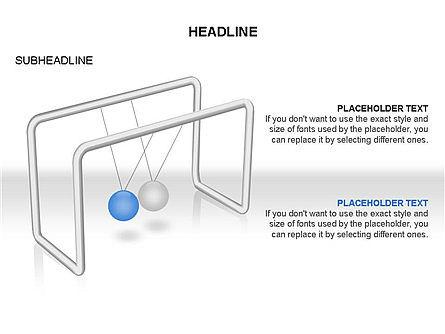 Newtons Cradle Toolbox, Slide 5, 03391, Business Models — PoweredTemplate.com