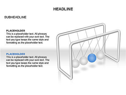 Newtons Cradle Toolbox, Slide 7, 03391, Business Models — PoweredTemplate.com