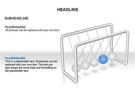 Newtons Cradle Toolbox, Slide 8, 03391, Business Models — PoweredTemplate.com