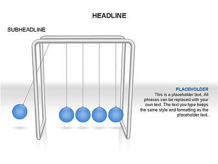 Newtons Cradle Toolbox, Slide 9, 03391, Business Models — PoweredTemplate.com