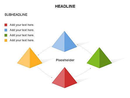 Lined Up Pyramids Toolbox, Slide 18, 03397, Shapes — PoweredTemplate.com