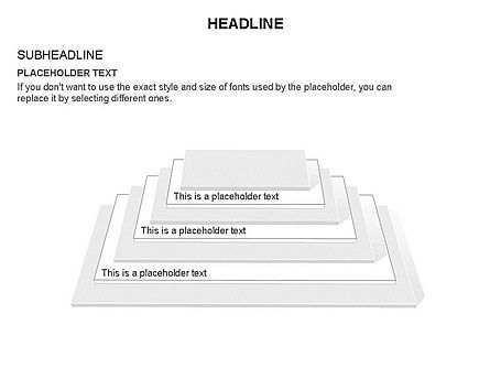 Rectangular Stage Pyramid Toolbox, Slide 13, 03400, Stage Diagrams — PoweredTemplate.com
