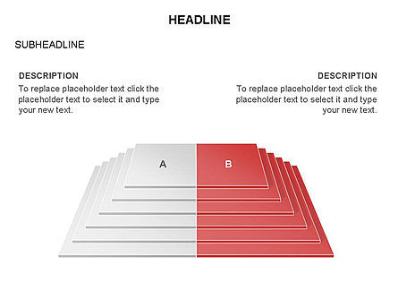 Rectangular Stage Pyramid Toolbox, Slide 16, 03400, Stage Diagrams — PoweredTemplate.com