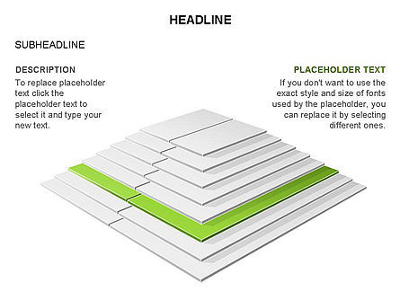Rectangular Stage Pyramid Toolbox, Slide 17, 03400, Stage Diagrams — PoweredTemplate.com