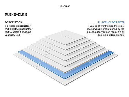 Rectangular Stage Pyramid Toolbox, Slide 18, 03400, Stage Diagrams — PoweredTemplate.com