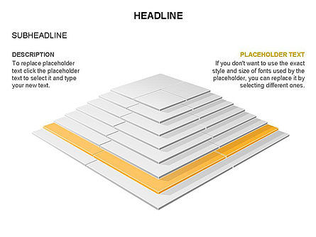 Rectangular Stage Pyramid Toolbox, Slide 20, 03400, Stage Diagrams — PoweredTemplate.com