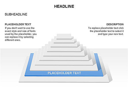 Rectangular Stage Pyramid Toolbox, Slide 4, 03400, Stage Diagrams — PoweredTemplate.com