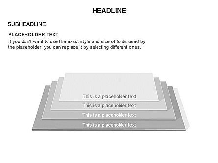 Rectangular Stage Pyramid Toolbox, Slide 5, 03400, Stage Diagrams — PoweredTemplate.com