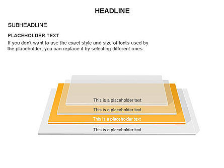 Rectangular Stage Pyramid Toolbox, Slide 7, 03400, Stage Diagrams — PoweredTemplate.com