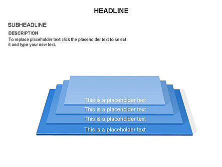 Rectangular Stage Pyramid Toolbox, Slide 8, 03400, Stage Diagrams — PoweredTemplate.com