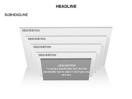 Rectangular Stage Pyramid Toolbox, Slide 9, 03400, Stage Diagrams — PoweredTemplate.com