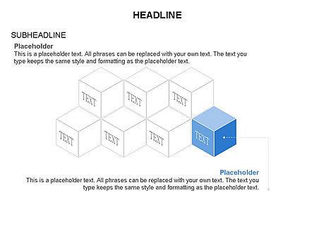 Honeycomb Cubes Toolbox, Slide 10, 03402, Shapes — PoweredTemplate.com