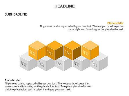 Honeycomb Cubes Toolbox, Slide 14, 03402, Shapes — PoweredTemplate.com