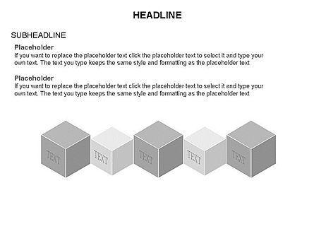 Honeycomb Cubes Toolbox, Slide 15, 03402, Shapes — PoweredTemplate.com