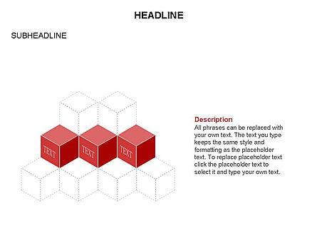 Honeycomb Cubes Toolbox, Slide 17, 03402, Shapes — PoweredTemplate.com