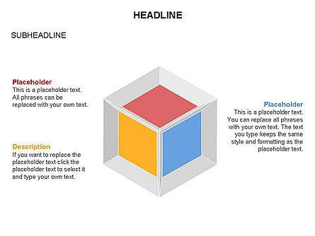 Honeycomb Cubes Toolbox, Slide 18, 03402, Shapes — PoweredTemplate.com