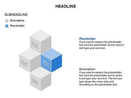 Honeycomb Cubes Toolbox, Slide 2, 03402, Shapes — PoweredTemplate.com