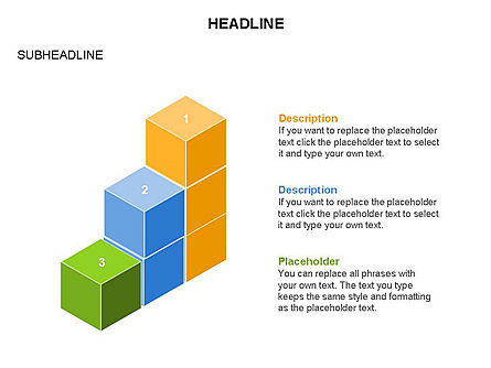 Honeycomb Cubes Toolbox, Slide 20, 03402, Shapes — PoweredTemplate.com