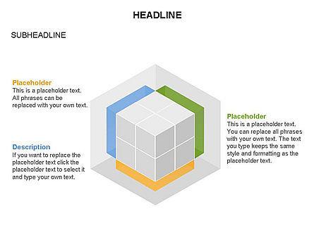 Honeycomb Cubes Toolbox, Slide 22, 03402, Shapes — PoweredTemplate.com