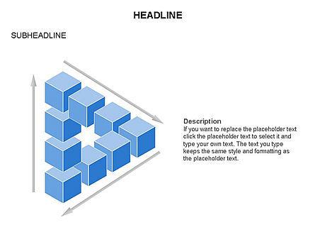 Honeycomb Cubes Toolbox, Slide 26, 03402, Shapes — PoweredTemplate.com