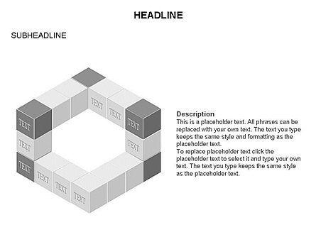 Honeycomb Cubes Toolbox, Slide 28, 03402, Shapes — PoweredTemplate.com