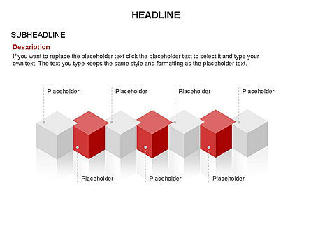 Honeycomb Cubes Toolbox, Slide 29, 03402, Shapes — PoweredTemplate.com