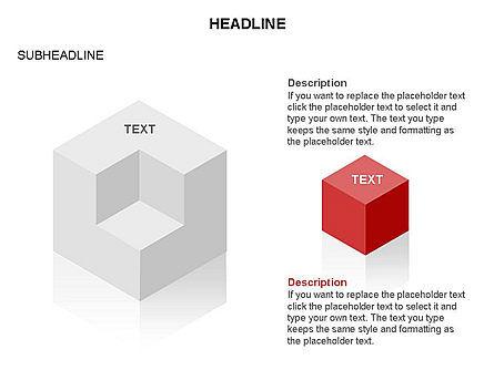 Honeycomb Cubes Toolbox, Slide 31, 03402, Shapes — PoweredTemplate.com
