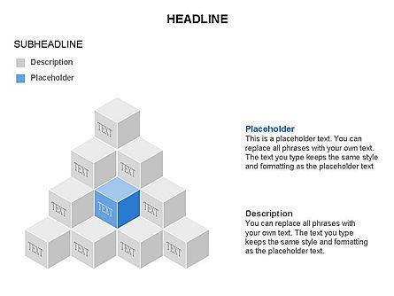 Honeycomb Cubes Toolbox, Slide 5, 03402, Shapes — PoweredTemplate.com