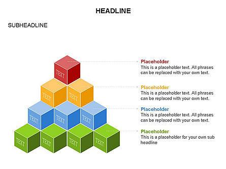 Honeycomb Cubes Toolbox, Slide 6, 03402, Shapes — PoweredTemplate.com