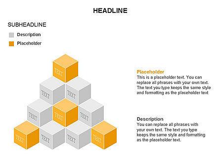 Honeycomb Cubes Toolbox, Slide 7, 03402, Shapes — PoweredTemplate.com