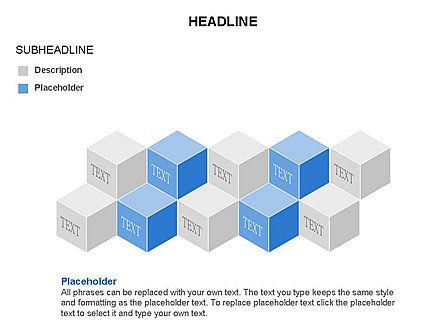 Honeycomb Cubes Toolbox, Slide 8, 03402, Shapes — PoweredTemplate.com