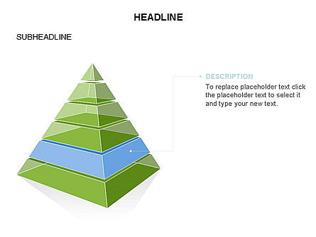 Layered 3D Pyramid Toolbox, Slide 24, 03403, Shapes — PoweredTemplate.com