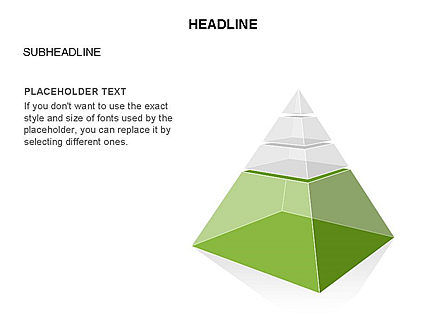 Layered 3D Pyramid Toolbox, Slide 27, 03403, Shapes — PoweredTemplate.com