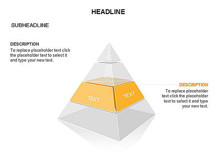 Layered 3D Pyramid Toolbox, Slide 28, 03403, Shapes — PoweredTemplate.com