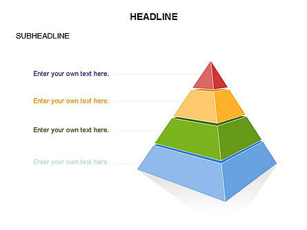 Layered 3D Pyramid Toolbox, Slide 29, 03403, Shapes — PoweredTemplate.com