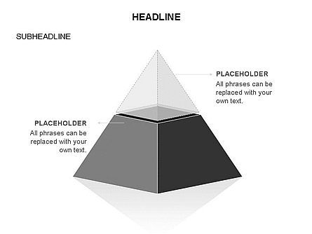Layered 3D Pyramid Toolbox, Slide 30, 03403, Shapes — PoweredTemplate.com