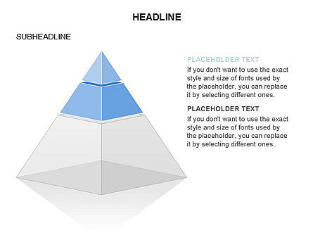 Layered 3D Pyramid Toolbox, Slide 31, 03403, Shapes — PoweredTemplate.com