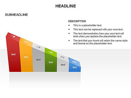 Ramp Chart Toolbox, Slide 10, 03404, Stage Diagrams — PoweredTemplate.com