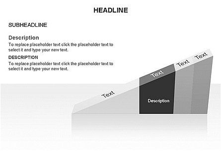 Ramp Chart Toolbox, Slide 12, 03404, Stage Diagrams — PoweredTemplate.com