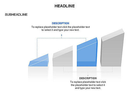 Ramp Chart Toolbox, Slide 14, 03404, Stage Diagrams — PoweredTemplate.com