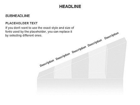 Ramp Chart Toolbox, Slide 15, 03404, Stage Diagrams — PoweredTemplate.com