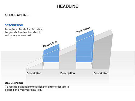 Ramp Chart Toolbox, Slide 16, 03404, Stage Diagrams — PoweredTemplate.com