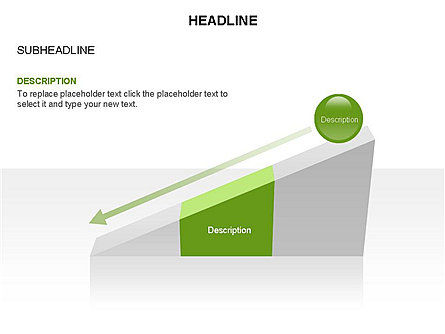 Ramp Chart Toolbox, Slide 17, 03404, Stage Diagrams — PoweredTemplate.com