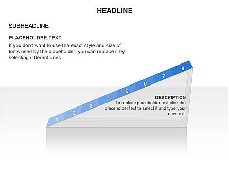 Ramp Chart Toolbox, Slide 18, 03404, Stage Diagrams — PoweredTemplate.com