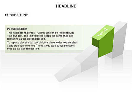 Ramp Chart Toolbox, Slide 23, 03404, Stage Diagrams — PoweredTemplate.com