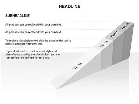 Ramp Chart Toolbox, Slide 26, 03404, Stage Diagrams — PoweredTemplate.com