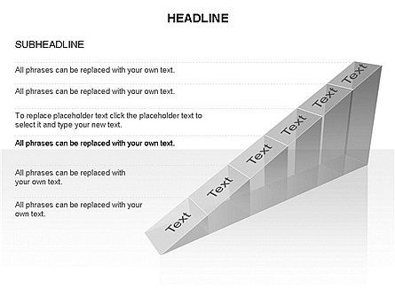 Ramp Chart Toolbox, Slide 27, 03404, Stage Diagrams — PoweredTemplate.com