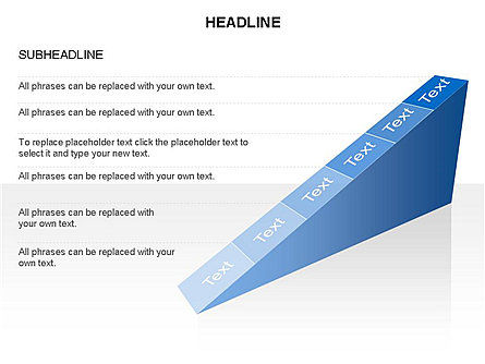 Ramp Chart Toolbox, Slide 32, 03404, Stage Diagrams — PoweredTemplate.com