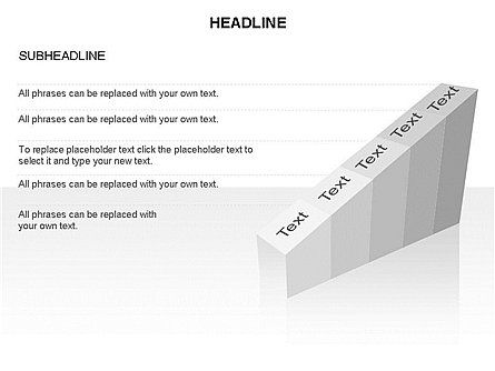 Ramp Chart Toolbox, Slide 33, 03404, Stage Diagrams — PoweredTemplate.com